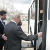 Депутаты горсовета стали первыми пассажирами троллейбуса на батарейках