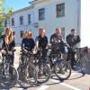 Участники немецкого велопробега прибыли во Владимир
