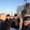 Андрей Шохин провел рабочую летучку у памятника основателю Владимира