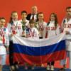 Владимирские каратисты привезли полный комплект наград с первенства Европы