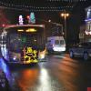 В «новогоднем» автобусе — по праздничному Владимиру