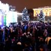 Новогодняя столица России встретила новый 2015 год!