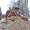 К детскому саду – по чистой дороге