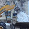 Откликнулись на просьбу принять участие в уборке снега