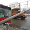 Во Владимире произошло ДТП с участием пассажирского автобуса