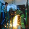 Пожарные-спасатели города Гусь-Хрустального деблокировали маленького ребёнка из запертой квартиры